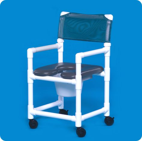 Standard Line Open Front Soft Seat Shower Chair Commodes