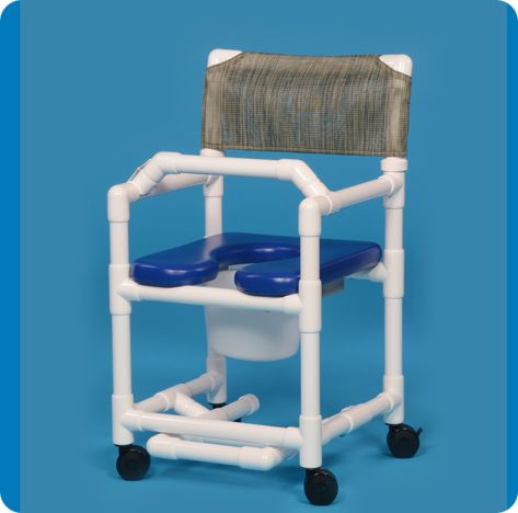 Standard Line Open Front Shower Chair Commode