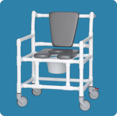 Oversize Shower Chair Commode